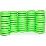 Blaydessales Green Disc Refill Set of 50 for Nerf Vortex, Zombi, Ripshot, Ricochet and Fusefire Blasters , 50 Blaydessales Disc. 50 Soft Foam Disc for Disc Shooting Guns. Nerf War Party Supplies
