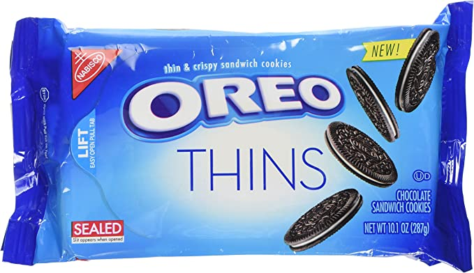 Oreo Thins Sandwich Cookies, 10.1 Ounce 2 Pack: Amazon.es ...