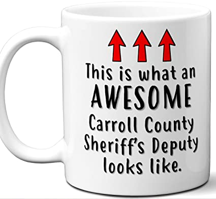 Amazon com: Carroll County Deputy Sheriff Gifts For Men