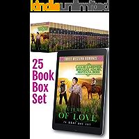 A Future Full of Love: 25 Book Bumper Box Set of Sweet, Clean, Mail Order Bride Western Romance