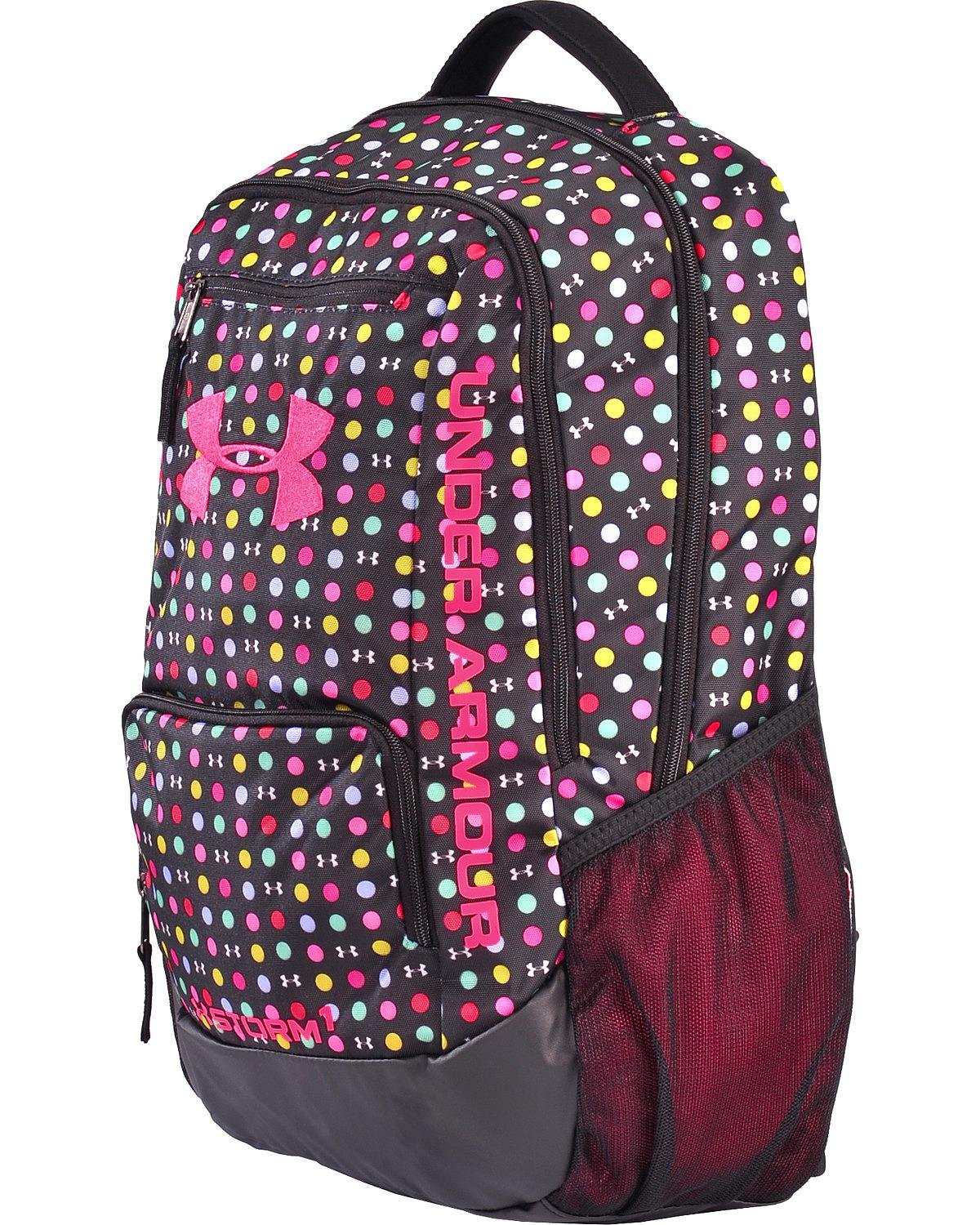 Amazon.com: Under Armour Girls Storm Hustle Ii Backpack Black One Size: Sports & Outdoors