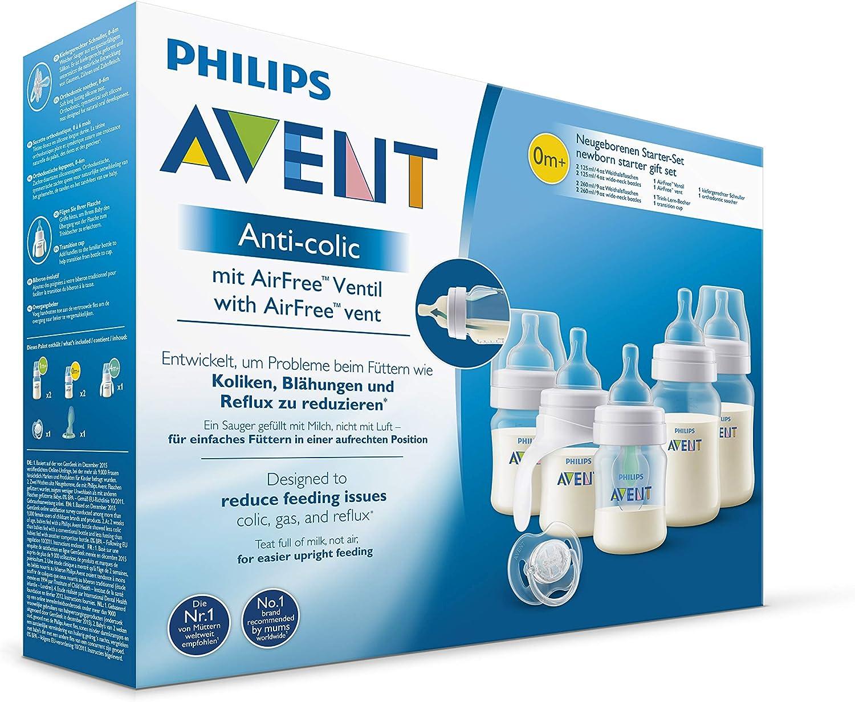 Biberon et T/étine Philips Avent scd808//01/Kit Anti Colique bouteilles avec robinet AirFree