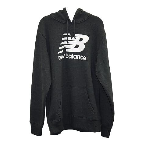 New Balance Lifestyle Fleece Hoodie MET 5198 - Sudadera con capucha para hombre, color gris