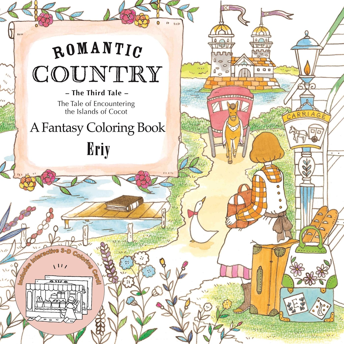 Amazon Romantic Country The Third Tale A Fantasy Coloring