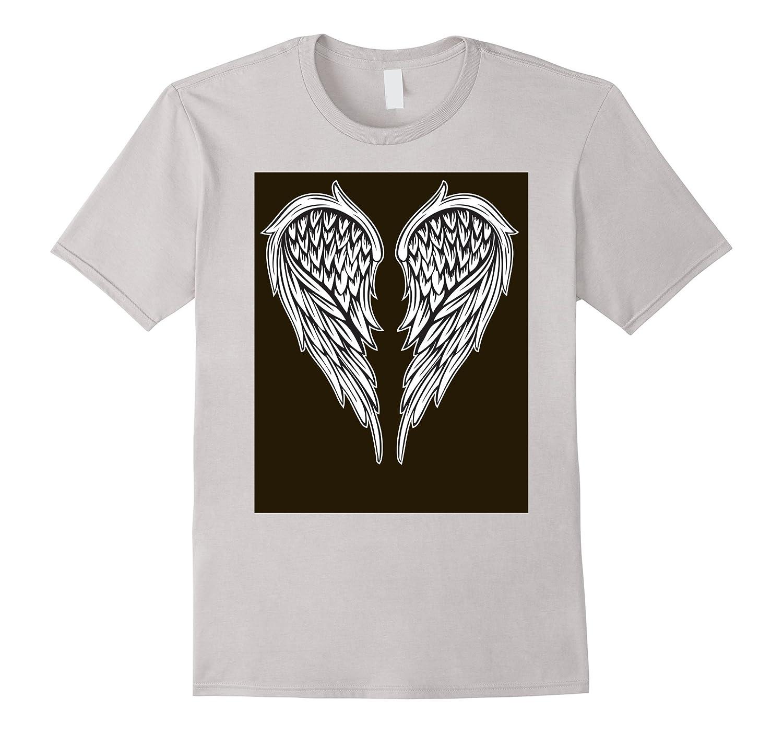 Angel Wings T-shirt Men Women Boys Girls Kids Heaven Gift-TD