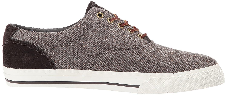 Amazon.com | Polo Ralph Lauren Men's Vaughn Sneaker, Brown, 10 D US |  Fashion Sneakers