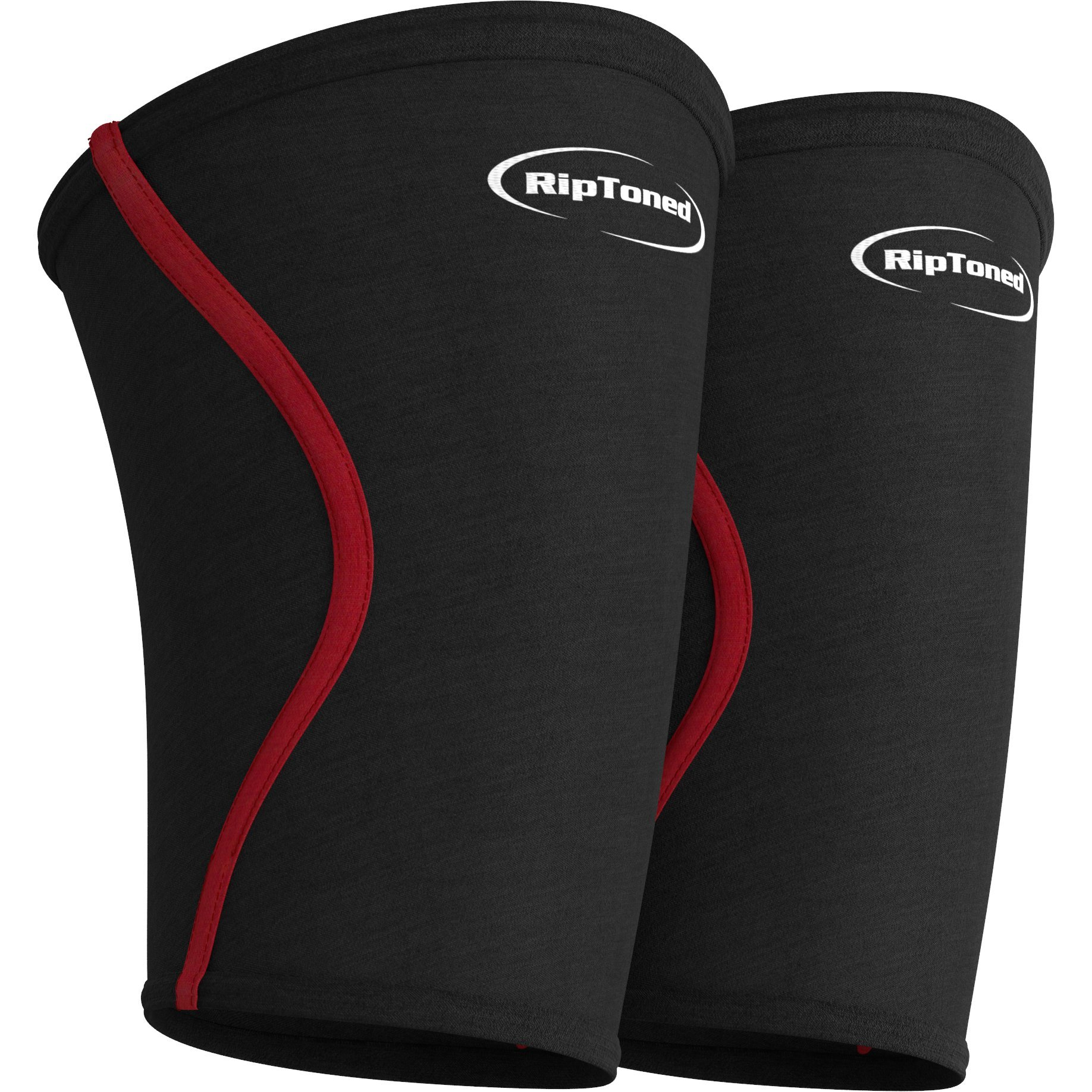 Compression Elbow Sleeves 5mm - Rip Toned - (Pair) Perfect Support for Weightlifting, Tennis, Golf & Basketball *Bonus eBook* Lifetime Replacement Warranty (Medium See Sizing Guide in Images)