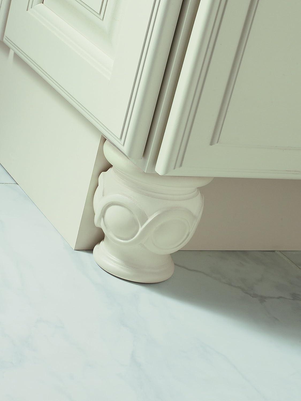 Cherry Bijou Carved Bun Foot