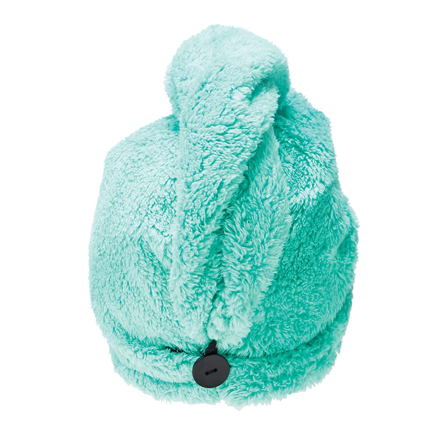 Upper Canada Soap Studio Dry Turban Hair Towel Wrap, Green SD8168GR
