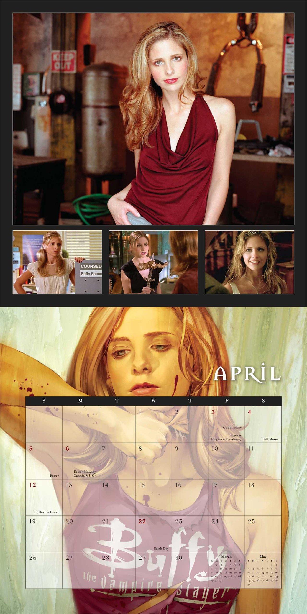 Buffy the Vampire Slayer 2015 Wall Calendar: 20th Century Fox:  9780789328229: Amazon.com: Books