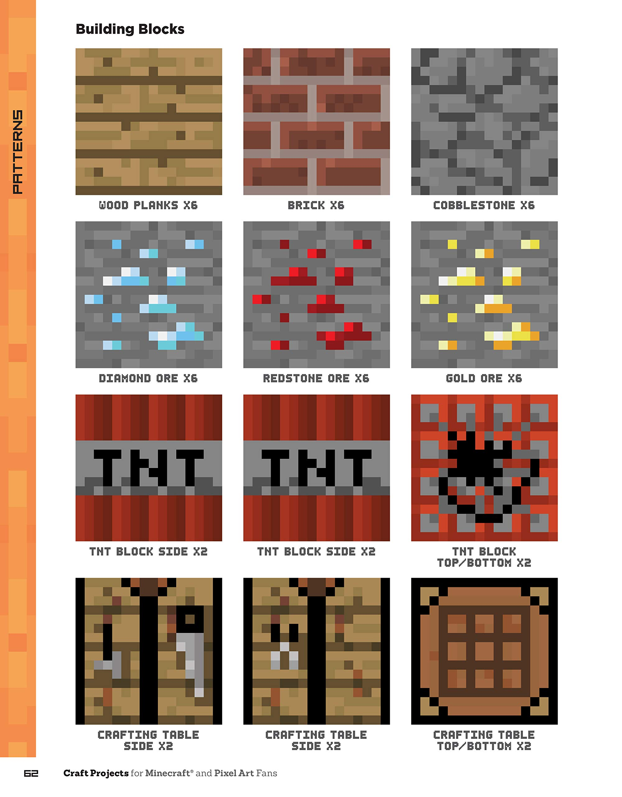 Craft Projects For Minecraft And Pixel Art Fans 15 Fun