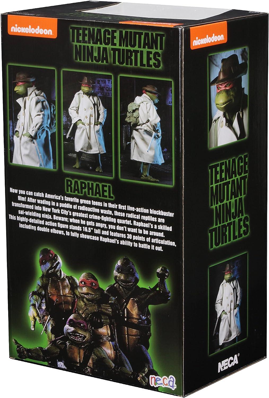 Amazon.com: NECA TMNT (película de 1990) Raphael Disguise 1 ...
