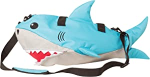 "Shark Fun Duffle Activity Overnight Small Duffle Bag Kids Adult Boys Girls 22"" L x 9"" W x 13"" H"