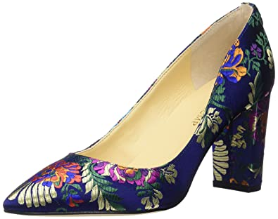 Ivanka Trump Women's Lysa2 Pump, Blue/Multi, 5 Medium US