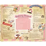 Creative Tops Extra-Large Toughened Glass Work Top Saver Baking Board