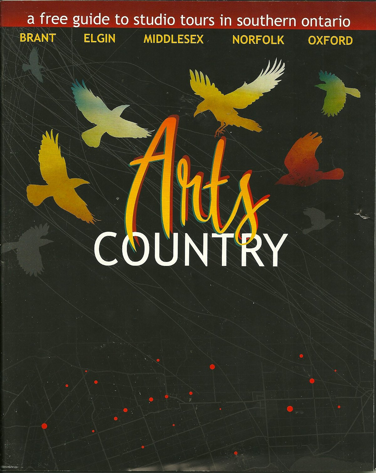 Download ARTS COUNTRY, GUIDE TO STUDIO TOURS IN SOUTHERN ONTARIO PDF