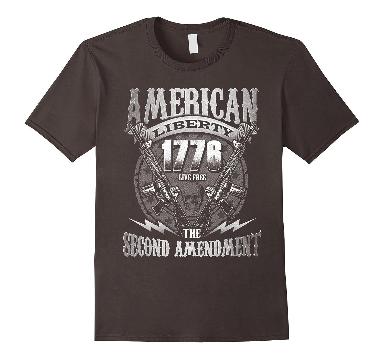 Second Amendment American Liberty 1776 Gun Rights T-Shirt-Vaci