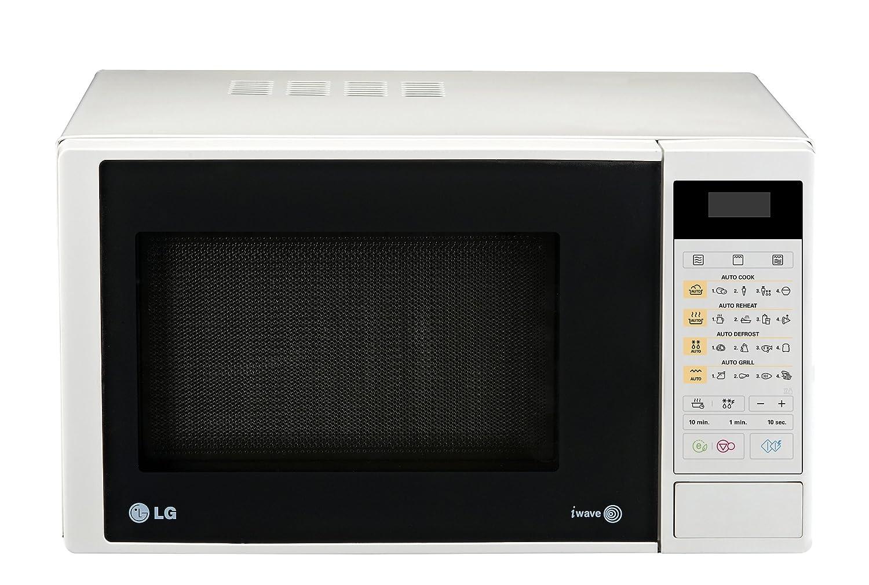 LG MH6342D Encimera 23L 800W Blanco - Microondas (Encimera, 23 L ...