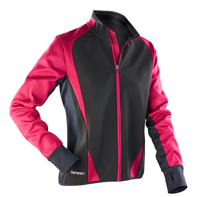 Amazon.com: Spiro Womens/Ladies Freedom Softshell Sports/Training Jacket: Clothing