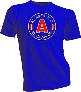 Alianza FC El Salvador Futbol Soccer Mens T-shirt Blue XL