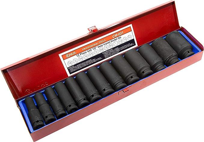Genius Tools 1 Dr 53mm 12-pt Hand Socket 837053