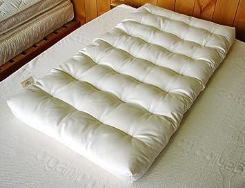 Amazon.com: Colchón de lana para bassinet/cuna: Baby
