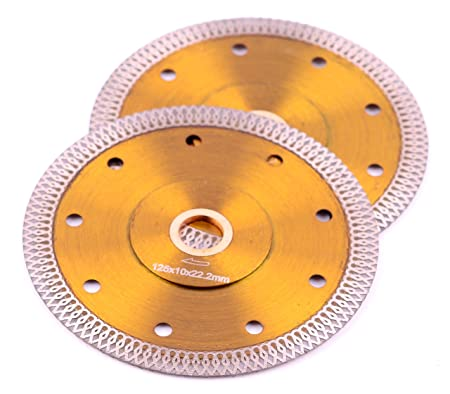 115mm Turbo Diamond Saw Blade Disc Porcelain Tile Ceramic Cutting Angle Grinder