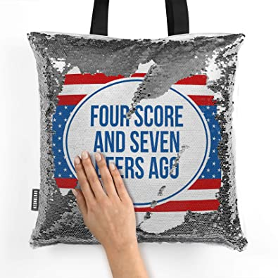 Amazon.com  NEONBLOND Mermaid Tote Handbag Four Score and Seven Beers Ago  Fourth of July Red 90f91c74c