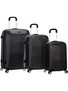 12cd3d2add9d Amazon.com | Titan Xenon Hardshell 3 Piece Spinner Luggage Set ...