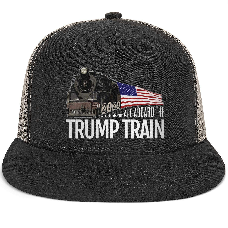 Mens Snapback Hat Baseball Caps Cool Hat JDHASA Trump-2020-star-white