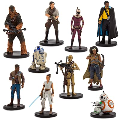 Star Wars: The Rise of Skywalker Deluxe Figure Play Set – The Resistance: Toys & Games