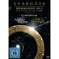 Stargate Kommando SG-1 - Die komplette Serie (inkl. Continuum, The Ark of Truth) [61 DVDs]