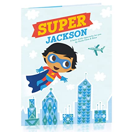 amazon com hallmark personalized books super hero boy j s