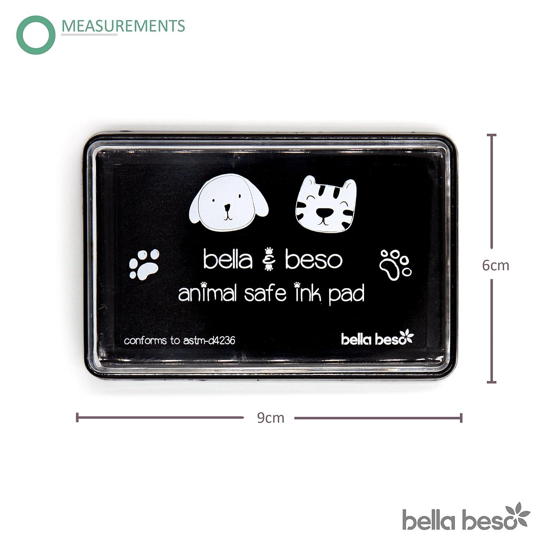 Kit de impresión de huellas de gato y perro - Tinta segura para ...