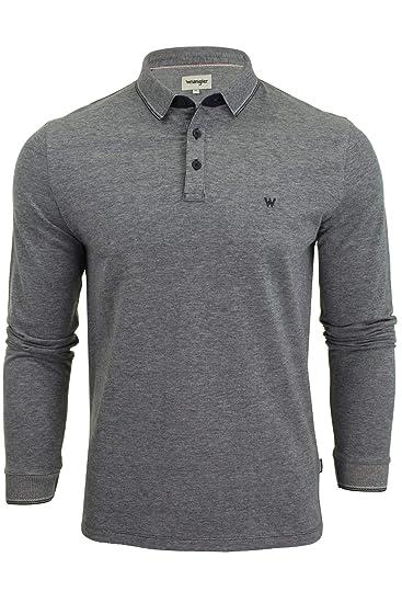 Wrangler - Camisa Casual - Liso - Clásico - Manga Larga - para ...