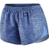 Nike Women's Equilibrium Modern Tempo Running Short Chalk Blue/Chalk Blue/Reflective Silver Shorts MD X 3