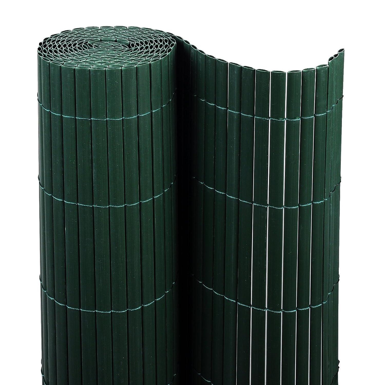Amazon WOLTU GZZ1184gn2 Sichtschutzmatte PVC Sichtschutzzaun