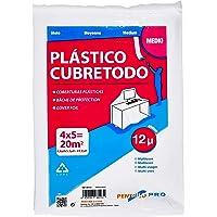 PENTRILO 08123 Plástico Cubretodo Protector Multiuso 4X5Metros Medio