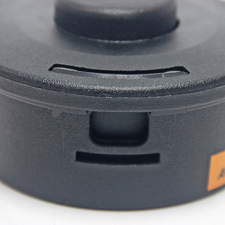 Wisamic Cabezal del recortador para Stihl Autocut Go 25-2 Fs44 Fs55 Fs80 Fs83 Fs85 Fs90 Fs110 Fs130