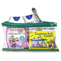 Licor del Polo Dentífricos 2en1 Junior Fresa, Cepillo