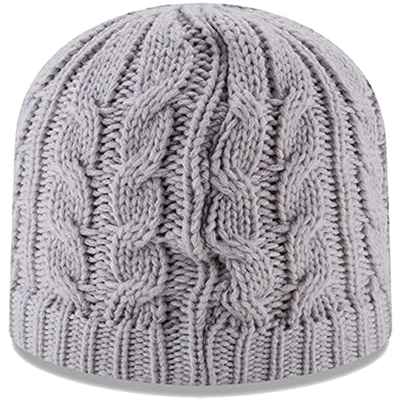 Amazon.com   New England Patriots New Era Women s Button Blast Knit Beanie  Gray   Sports   Outdoors 52e5d5272
