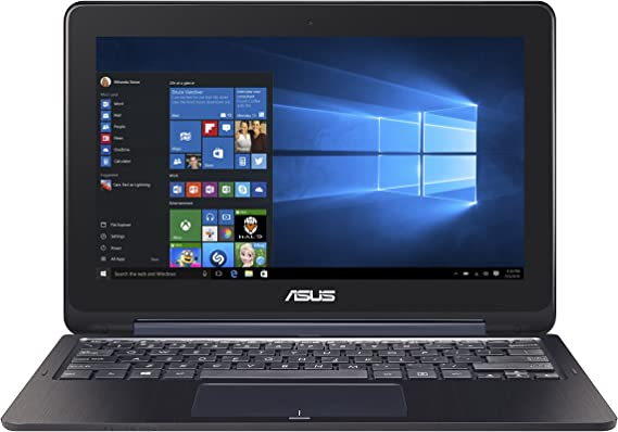 ASUS Transformer Book TP200SA-DH01T-BL 11.6 inch Display Thin and Lightweight 2-in-1 Full HD Touchscreen Laptop