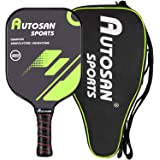 AUTOSAN Pickleball Paddle USAPA Approved as Single or Set (2 Quiet & Light Paddles+