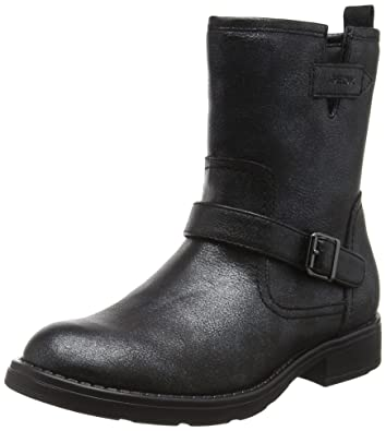 La Redoute Geox Big Girls J Sofia K Ankle Boots With Buckle Black Size 36 8450348d5afe