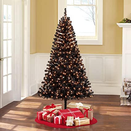 huge selection of c032a 1fff8 Amazon.com: Holiday Time Pre-Lit 6.5' Madison Pine Black ...