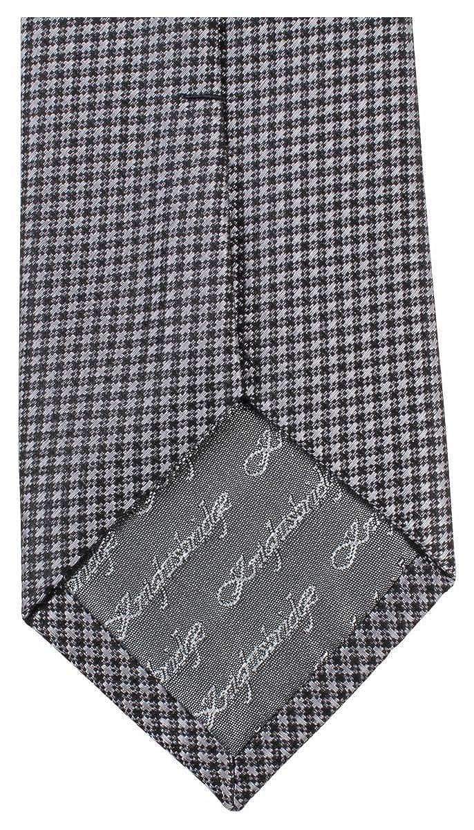 Knightsbridge Neckwear Mens Small Cross Tie Black
