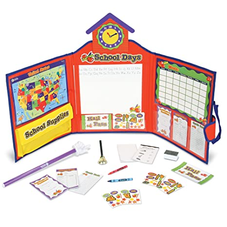 Amazon.com: Pretend & Play School Set, Frustration Free Packaging ...