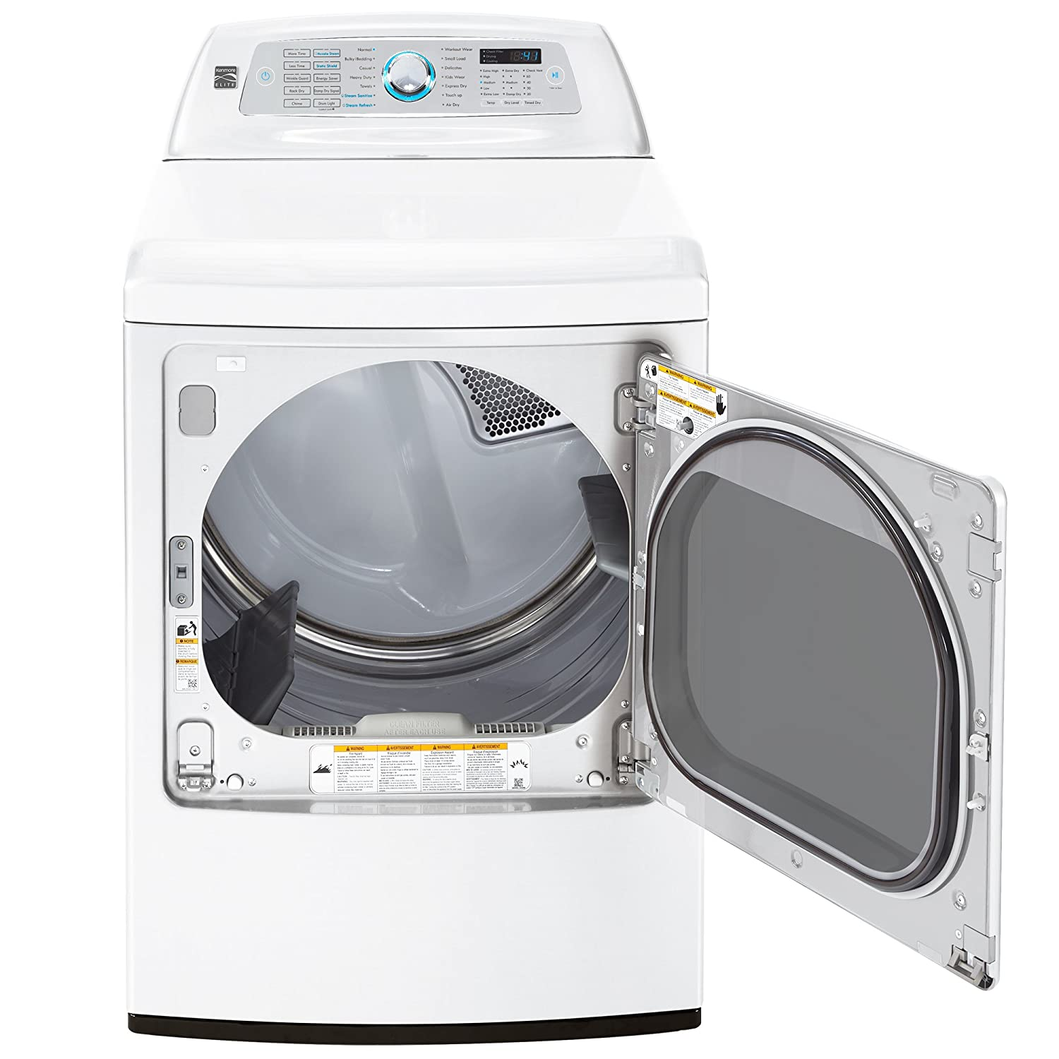Electric Dryer with SmartDry Ultra Technology in White includes delivery and hookup ft Kenmore Elite 61632 9.2 cu