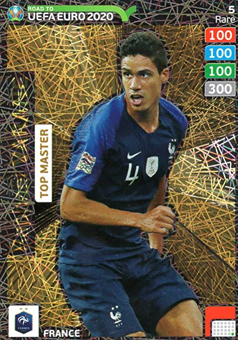 CARDS PANINI INVINCIBLE TOP MASTER EXPERT ADRENALYN ROAD TO EURO 2020