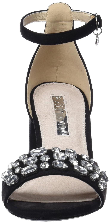 XTI Damen 30755 Riemchenpumps, Schwarz (schwarz) (schwarz) Schwarz 80a573